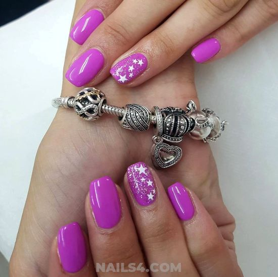 Enchanting Incredibly Gel Nails Ideas - nailartdesigns, nails, party, lovely