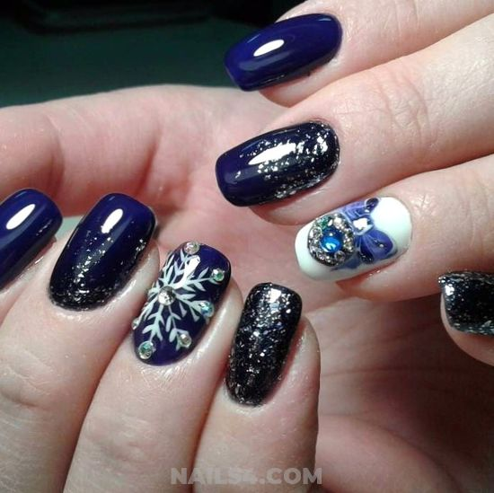 Fantastic Perfect American Nails Art Design - nailidea, nails, sweetie, gorgeous
