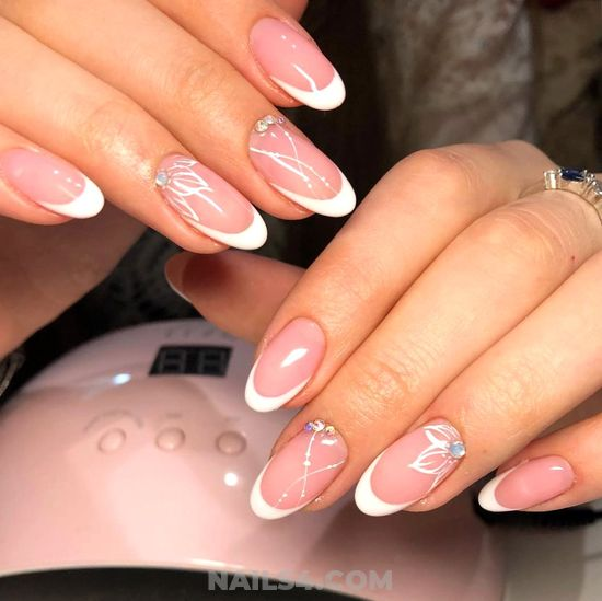 Feminine And Easy Nail - beautytricks, party, nail, love