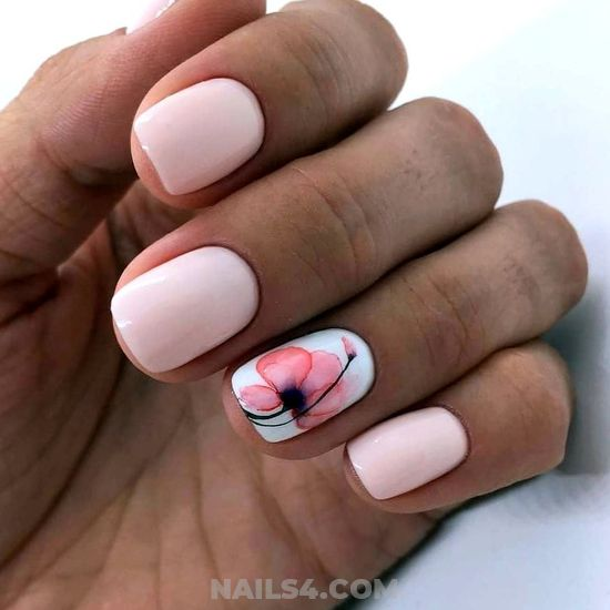 Fresh Easy American Gel Manicure Art Ideas - cutie, nails, nailideas, sexiest