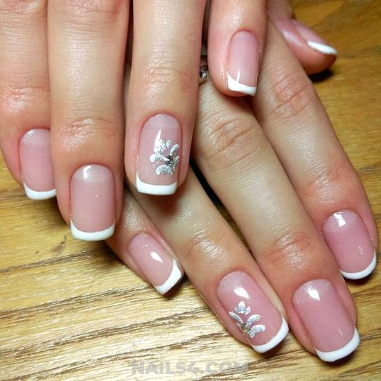 Glamour And Feminine Gel Nail Trend - gel, fashion, sexy, nails, nailidea