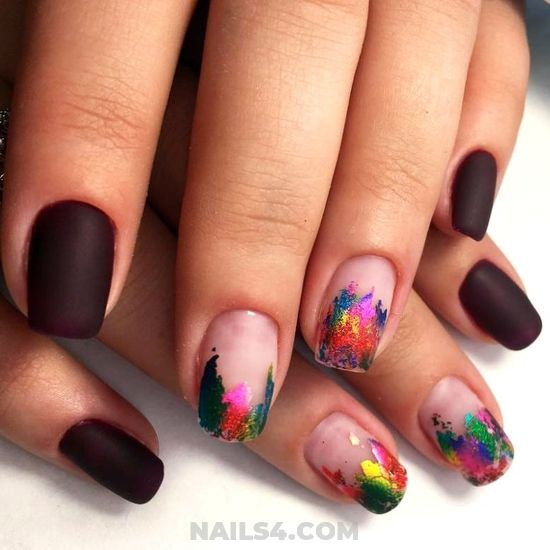 Glamour Delightful American Nails Style - royal, smart, nail, gotnails