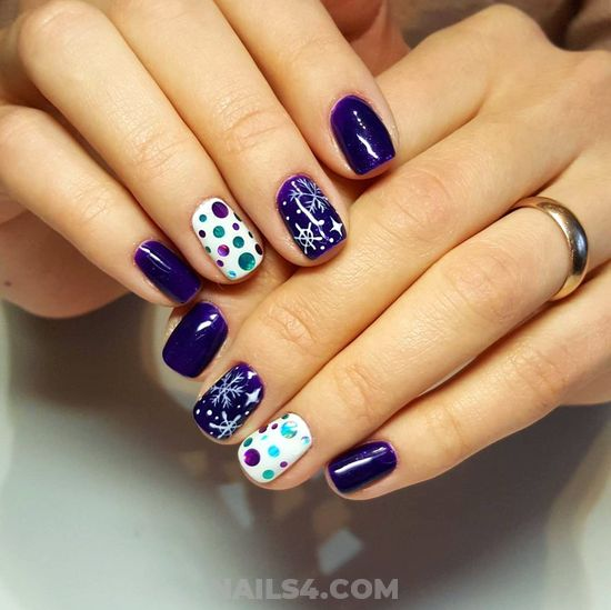 Gorgeous Acrylic Nails - nail, gorgeous, dainty, star
