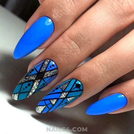 Gorgeous And Chic Gel Manicure Idea - party, cute, neat, gorgeous, nail