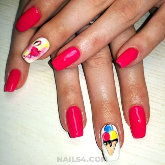Gorgeous Cutie Gel Nail Design - getnails, top, cunning