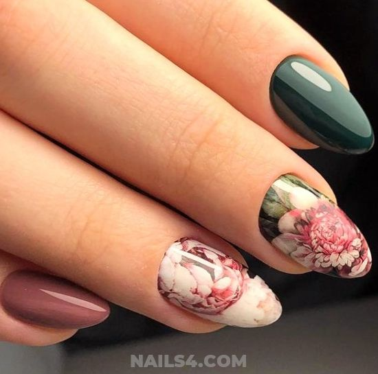 Graceful And Ceremonial Gel Nail Style - clever, nail, nailidea
