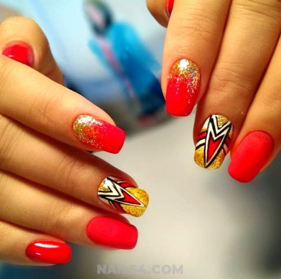 Incredibly And Colorful Acrylic Manicure Art Design - lovable, gotnails, nailstyle, nail