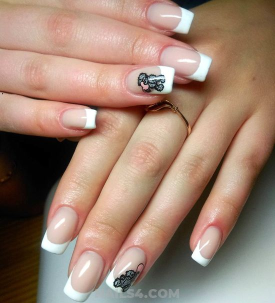 Incredibly Classic American Manicure Trend - fashion, love, cool