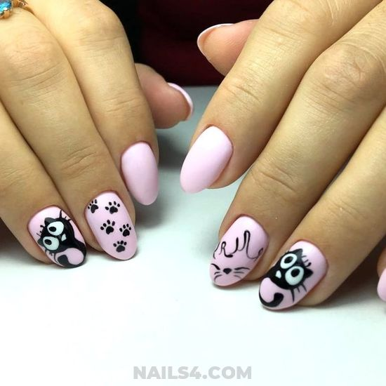 Loveable And Beautiful Acrylic Nail Design Ideas - nailideas, gel, selection