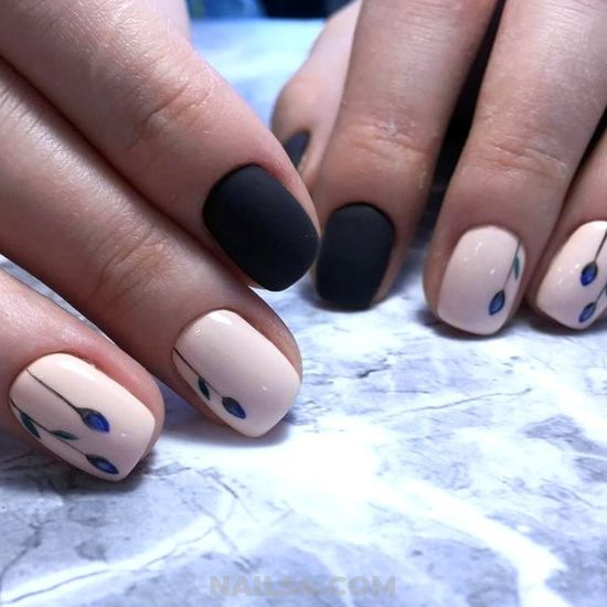 Loveable Cool Gel Nail Style - beautiful, nailidea, super