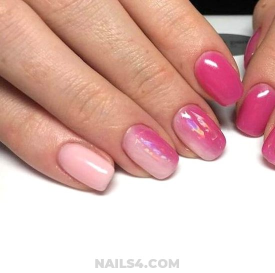 Lovely And Cutie French Gel Nail Art Design - diy, sweet, party