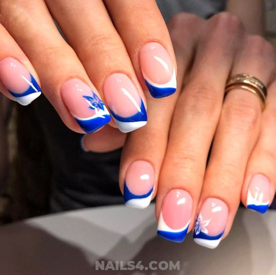 Lovely And Girly Acrylic Nail Design Ideas - gel, furnished, nail, creative