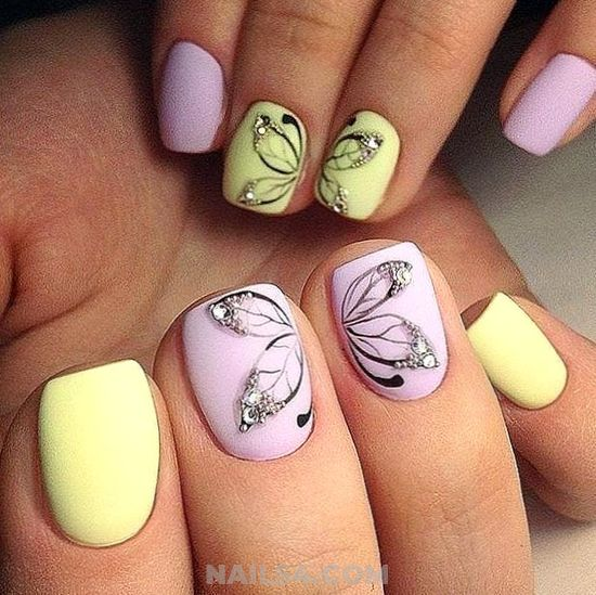 My Charming & Loveable Acrylic Nails Design - elegant, nails, gelnails