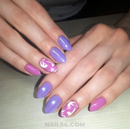 My Cutie And Inspirational Gel Nails Trend - dainty, love, gel