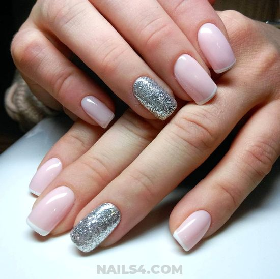 My Fresh & Easy French Acrylic Manicure Design - cute, wonderful, nails, idea
