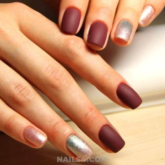 My Gorgeous Fashionable American Manicure Style - cute, star, sexiest, nails