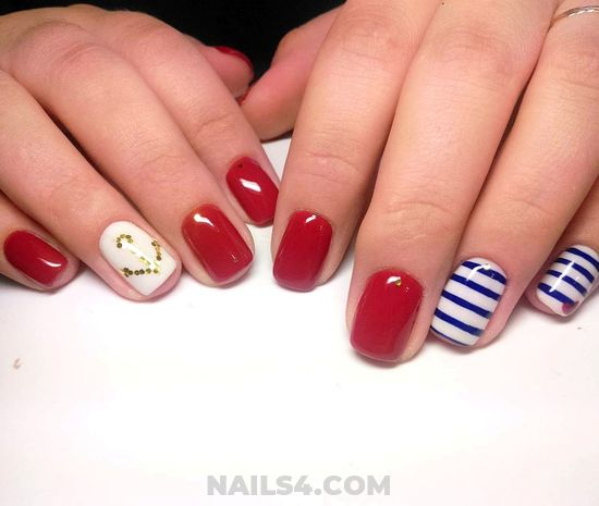 My Neat Fashion Gel Nail Trend - diy, nails, nailartideas, nice, royal