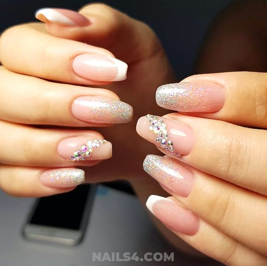 My Trendy & Balanced Nail Trend - nails, naildesigns, party, classic