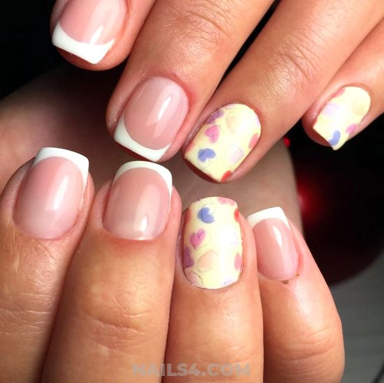 35 Easy French Nail Design Ideas Nails4