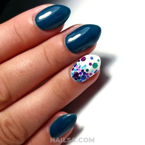 Orderly And Casual Gel Nail Art Design - naildiy, nail, diy, manicure