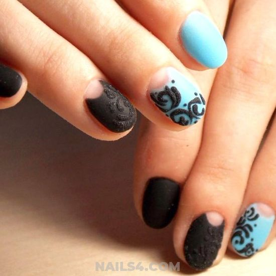 Orderly And Enchanting French Acrylic Nails Style - getnails, trendy, nailidea