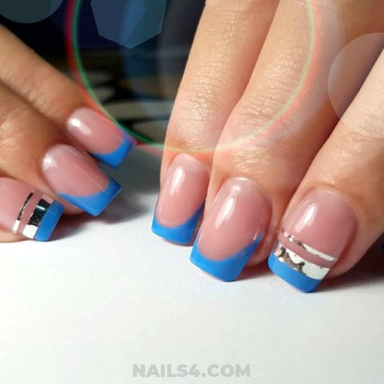 Pretty & Cool French Acrylic Nails Design - elegant, graceful, plush