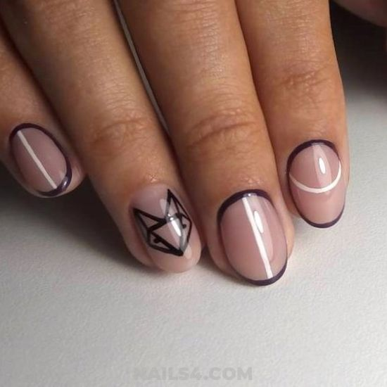 Professionail And Dreamy Acrylic Manicure Art - nail, nailartideas, cunning