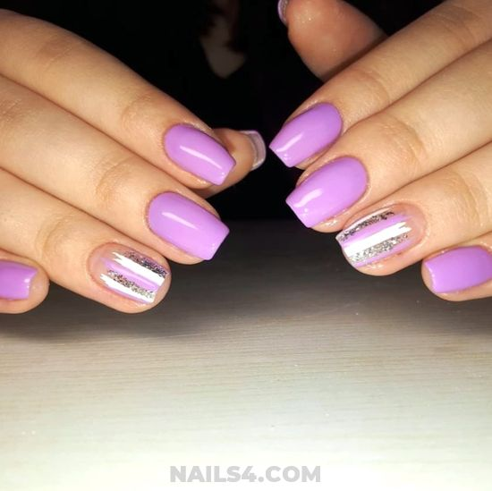 Professionail And Fresh Gel Manicure Idea - party, extremelycute, cutie, nails