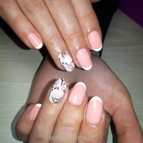 Sexy & Balanced Gel Nails Art Design - magic, nail, cute, glamour