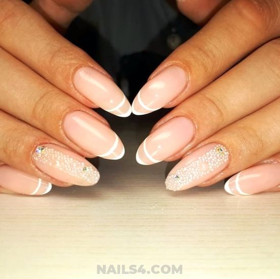 Sexy Classic Nails Design - fashion, acrylic, nails, diynailart