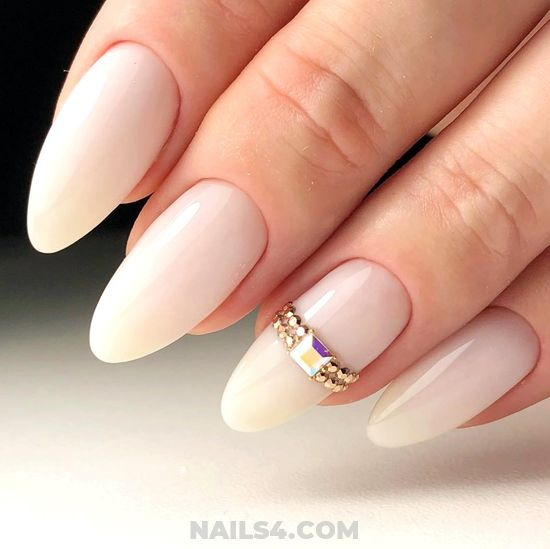 Stately And Casual Acrylic Manicure Art Design - nail, nailidea, magic, diy, getnails