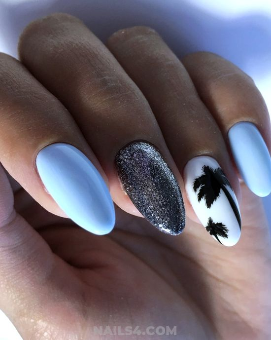 Super And Classy Gel Nails Ideas - nailidea, gelpolish