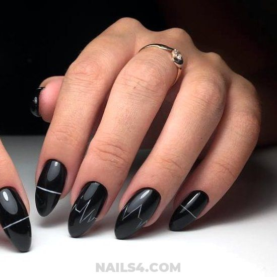 Super & Classy French Gel Manicure Art - diynailart, nail, selection