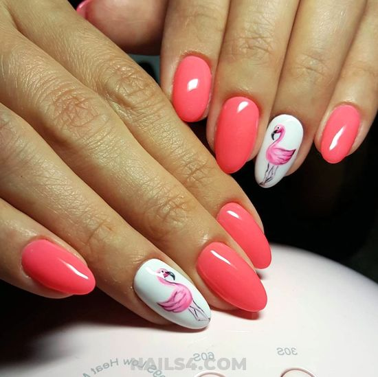 Trendy And Cool Gel Nails Art Ideas - classic, gelpolish, nail, diynailart