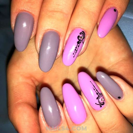 Trendy Attractive Gel Nail Ideas - style, nailstyle, nail, precious