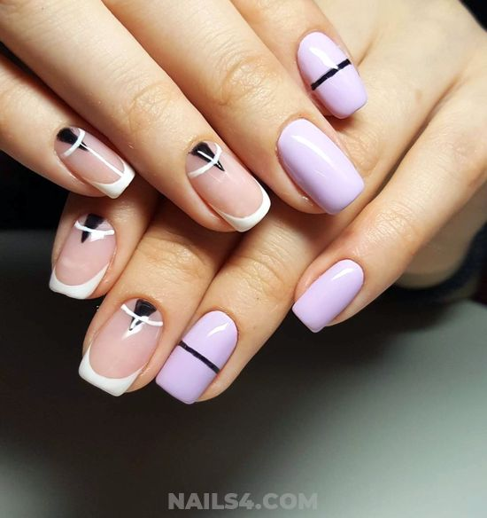 Trendy & Classy Acrylic Manicure Design Ideas - goingout, gotnails, nails, nice
