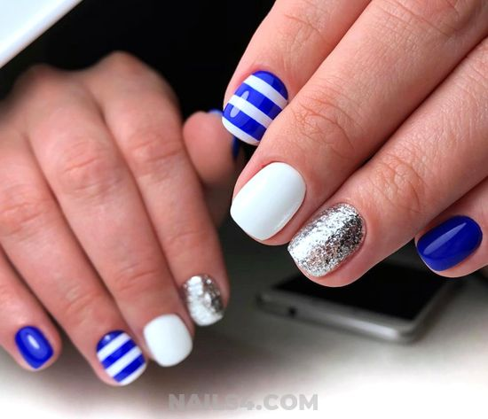 Unique And Cool Manicure Design - beautiful, nail, naildesigns, shiny