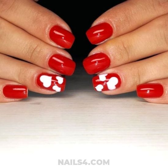 Adorable And Pretty Nails Art Ideas - diy, adorable, love, nailideas, nail