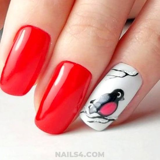 Attractive Glamour Acrylic Nails Art - super, getnails, diynailart