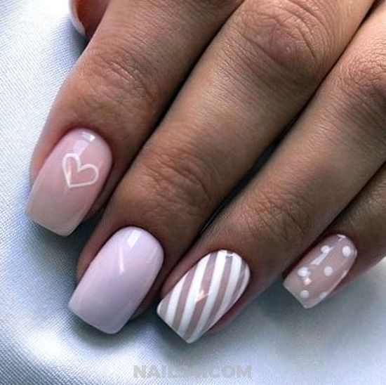Easy Valentine S Day Nail Art Designs Nails4