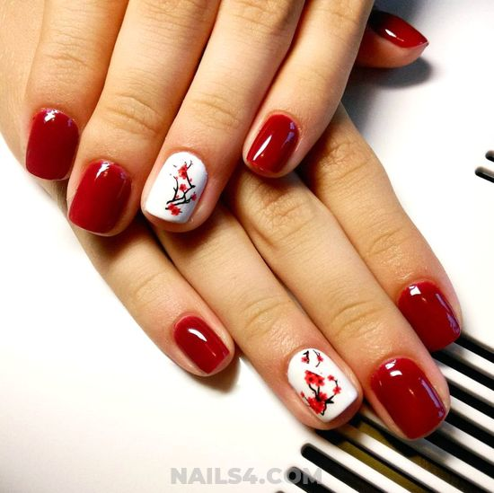 Awesome Glamour Nail Art - nice, cute, attractive, nails