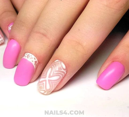 Birthday Loveable Acrylic Manicure Art Design - nailartdesign, diy, ideas