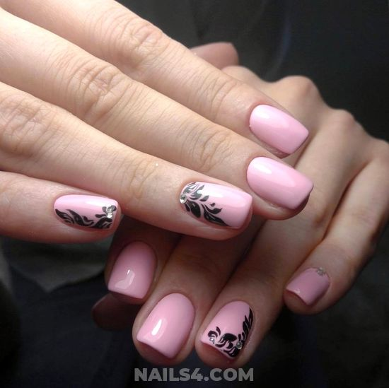 Chic Nice French Nail Art Design - selfnail, beautytips, nail, star