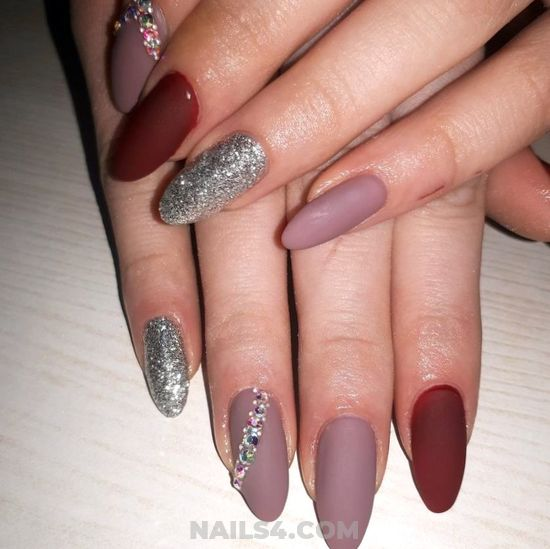 Classic And Pretty Manicure Ideas - cool, getnails, nails, precious