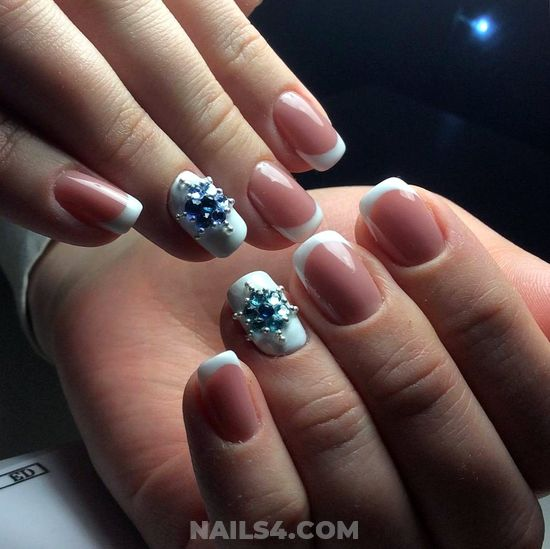 Classic & Incredibly American Nail Idea - nails, nailartdesign, cool, artful