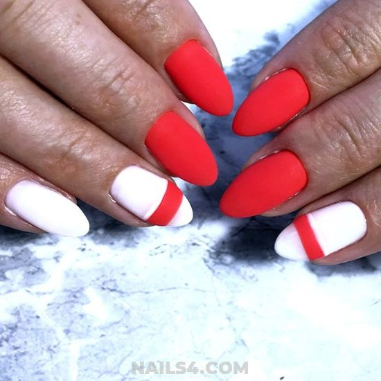 Fashionable And Perfect French Manicure Style - creative, teen, nailstyle