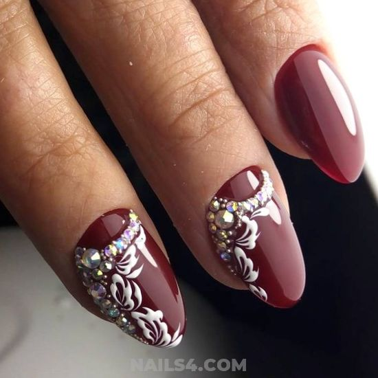 My Chic And Top French Art Design - graceful, dainty, nail, awesome