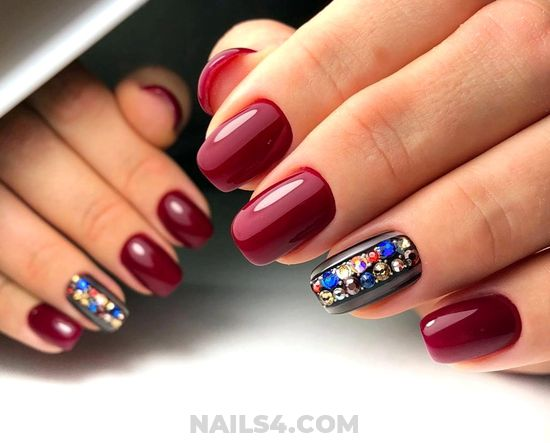 Orderly & Girly Nails Trend - furnished, cool, nails, nailideas