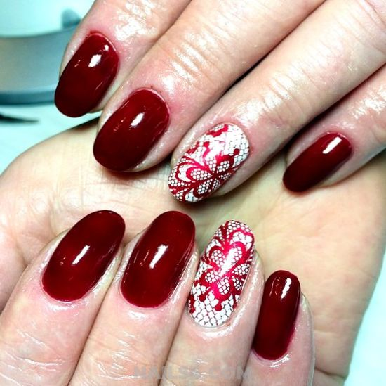 Simple And Best Gel Nail Trend - nail, graceful, acrylic, classic