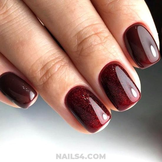 Stately Classic French Gel Manicure Trend - nail, nailidea, cutie, hilarious